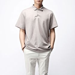 [매트블랙] 베이직 PK 반팔 티셔츠