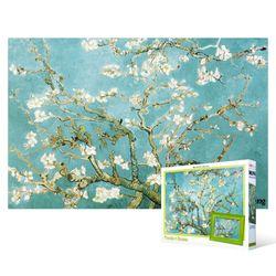 108피스 직소퍼즐  꽃이 핀 아몬드 나무 (미니)+액자