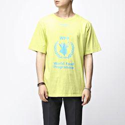 [매트블랙] 월계수 나염 반팔 티셔츠
