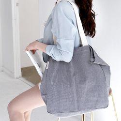Mediumtempo eco bag - 린넨 쇼퍼백 청춘