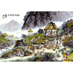 2014피스 직소퍼즐  원두막 풍경 (미니)