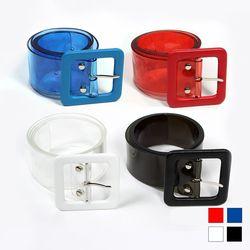 5031 PVC 투명 벨트 (4colors)