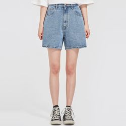 boyish denim half pants (s m l)