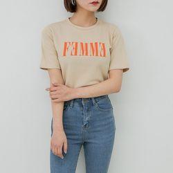 [로코식스] 에프엠 티셔츠