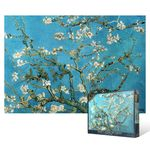 1000피스 직소퍼즐  꽃이 핀 아몬드 나무 (야광)