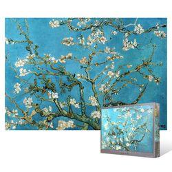 1000피스 직소퍼즐  꽃이 핀 아몬드 나무6