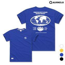 [앨빈클로] AST-3530e EARTH 오버핏 반팔 티셔츠