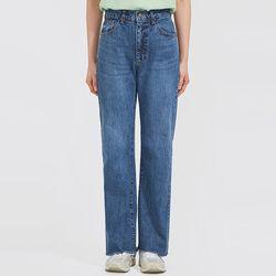 trendy mood straight denim pants (s m l)