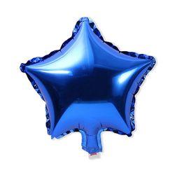 블루 스타 호일풍선