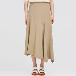 FRESH A unbalance long skirt (s m)
