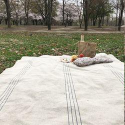 메이 린넨 피크닉블랭킷 [137x178]