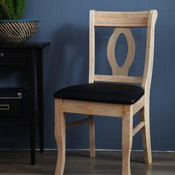 NP 내츄럴 원목 의자 2개