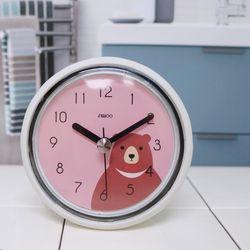 [시우아트]프렌즈욕실방수흡착시계