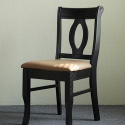 NP 웬지 원목 의자 2개
