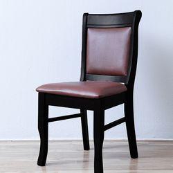 DMA 가죽 웬지 의자 2개