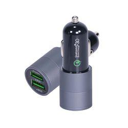 애니클리어 퀵차지3.0 듀얼 고속 차량용충전기 QC30C