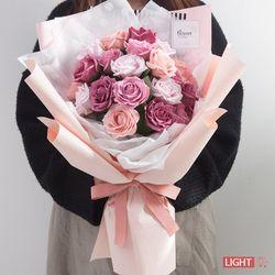 로맨틱퀸비누장미꽃다발 58cmP5 (전구미포함) FMBBFT