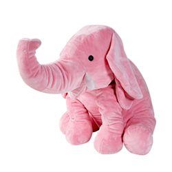 이젠돌스 점보엘리 대형 코끼리인형 핑크