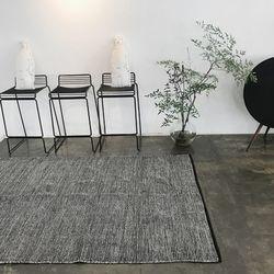 마스카포네 코튼 러그 -그레이(100x150)