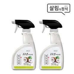 청소선생 코코넛 만능크리너 400ml 2개