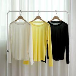 [로코식스] 소프트 라운드 티셔츠