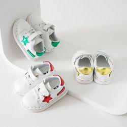 [수아봉봉] 스타패치 보행기 신발 QSS016
