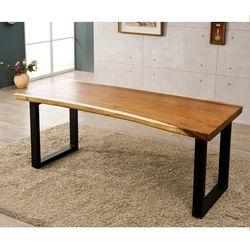꼬우꼬 우드슬랩 테이블 1800