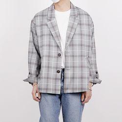 Minimal crop blazer