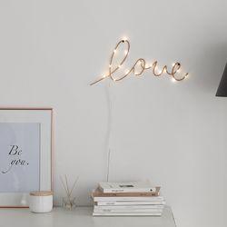 레터링 LED 벽조명 (코퍼)