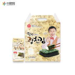 (주)광천김 본사 달인 김병만의 8호 선물세트