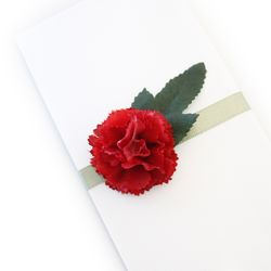 어반카네이션 리본꽃봉투 La Vien En Rose 감사봉투