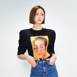 캔디아이 퍼프 티셔츠