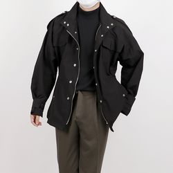 Windbreak half jacket