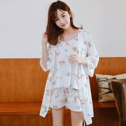 lovely woman 3 set pajamas