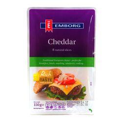 [치즈파티] 엠보그 체다 슬라이스 150g