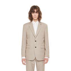 Topeka check jacket (Beige)