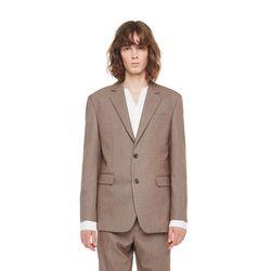 Topeka check jacket (Brown)