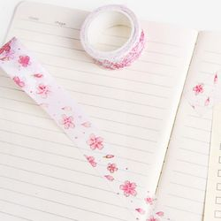 흩날리는 벚꽃 마스킹 테이프
