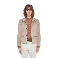 Key west suede jacket (Beige)