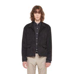 Key west suede jacket (Black)