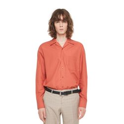 Hagen opencara shirt (Orange)