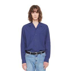 Hagen opencara shirt (Navy)