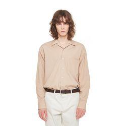 Hagen opencara shirt (Beige)