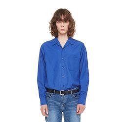 Hagen opencara shirt (Blue)