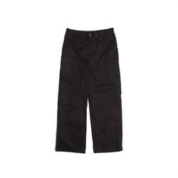 [DUCKDIVE]UTILITY POCKET CARGO PANTS  BLACK