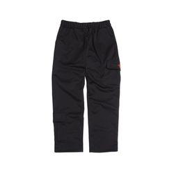 [DUCKDIVE]+82 POCKET CARGO PANTS  BLACK