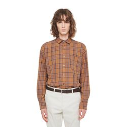 Ac buffalo check shirt (Beige)