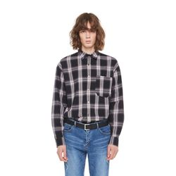 Ac buffalo check shirt (Black)
