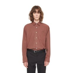 Bintage check shirt (Brown)