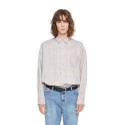 LTS big check shirt (Beige)